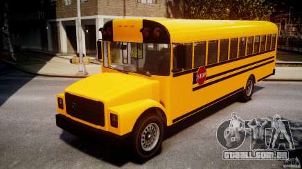 School Bus [Beta] para GTA 4