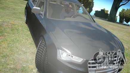 Audi A6 Avant Stanced para GTA 4
