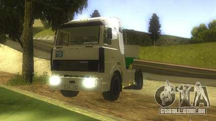 MAZ 5432 Turbo para GTA San Andreas