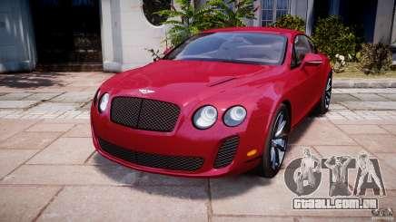 Bentley Continental SS v2.1 para GTA 4