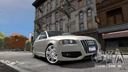Audi S3 2006 v 1.1 não é tonirovanaâ para GTA 4