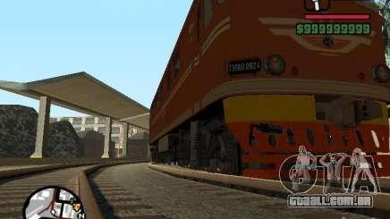 TEP-60 locomotiva para GTA San Andreas