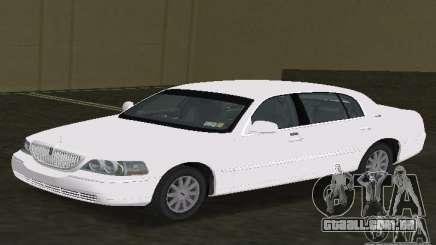 Lincoln Town Car para GTA Vice City
