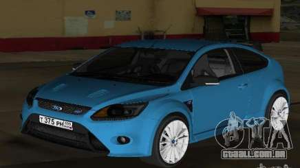 Ford Focus RS 2009 para GTA Vice City