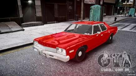 Dodge Monaco 1974 stok rims para GTA 4