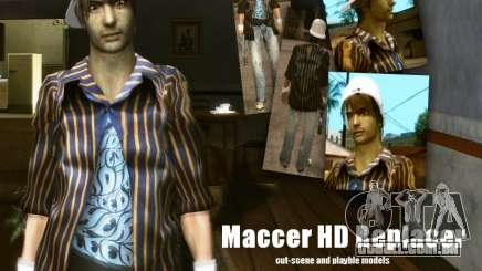 Maccer HD Replacer para GTA San Andreas