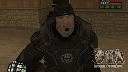 Marcus Fenix do Gears of War 2 para GTA San Andreas