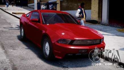 Ford Shelby GT500 2010 para GTA 4