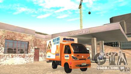 Hafei Camion de Gas para GTA San Andreas
