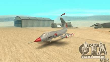 F-104 Starfighter Super (cinza) para GTA San Andreas