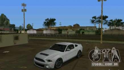 Ford Shelby GT500 para GTA Vice City