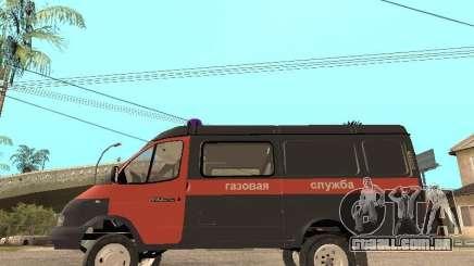 Serviço de gás gazela 2705 para GTA San Andreas