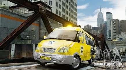 Gazela 2705 táxi v 2.0 para GTA 4