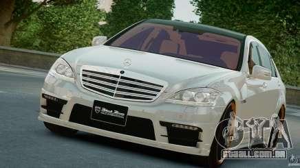 Mercedes-Benz S Class W221 Black Bison 2009 para GTA 4