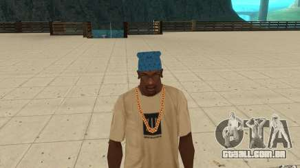 Bandana azul maryshuana para GTA San Andreas