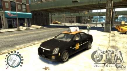 Cadillac CTS-V Taxi para GTA 4