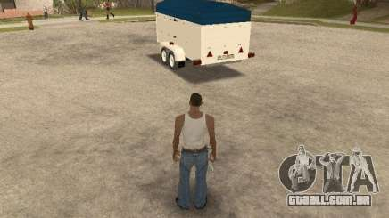 Reboque para Ford Transit 2007 para GTA San Andreas