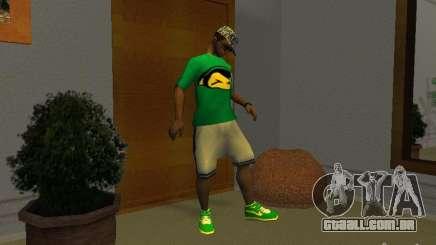Novos tênis verdes para GTA San Andreas