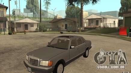 Mercedes Benz W126 560 1990 para GTA San Andreas