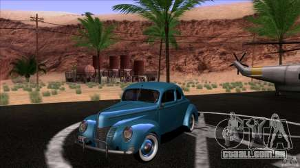 Ford Deluxe Coupe 1940 para GTA San Andreas