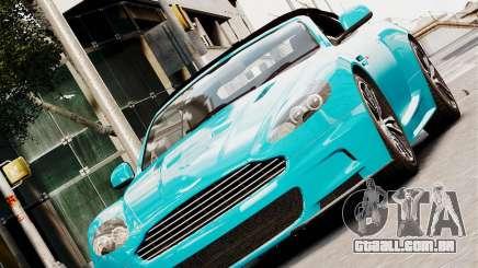 Aston Martin DBS Volante 2010 v1.5 Diamond para GTA 4
