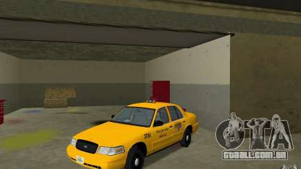 Ford Crown Victoria Taxi para GTA Vice City