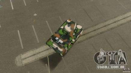Bundeswehr-Panzer para GTA Vice City