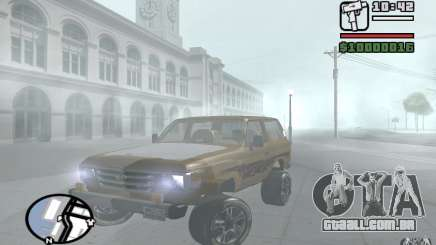 Toyota Land Cruiser 70 para GTA San Andreas