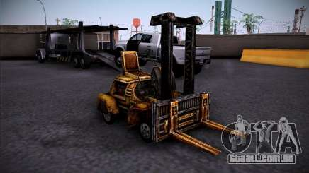 Empilhadeira do TimeShift para GTA San Andreas