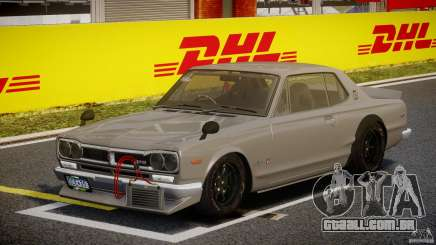 Nissan Skyline Hakosuka (KPGC10) Mountain Drift para GTA 4