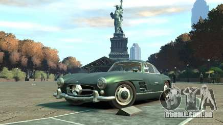 Mercedes-Benz 300SL Gullwing para GTA 4
