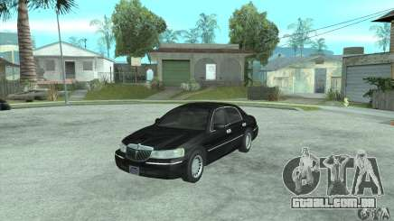 Lincoln Town Car 2002 para GTA San Andreas
