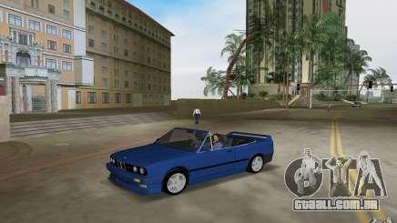 BMW M3 E30 Cabrio para GTA Vice City