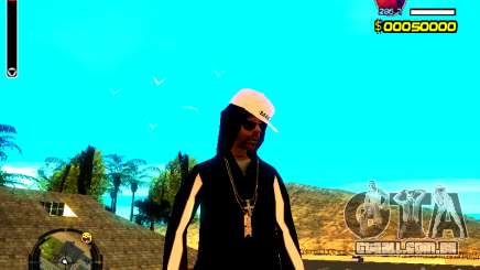 Pele vagabundo v8 para GTA San Andreas
