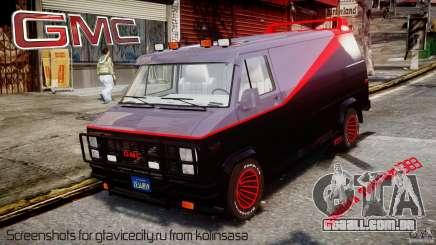 GMC Vandura A-Team Van 1983 para GTA 4