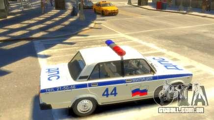 Polícia Vaz-2105 para GTA 4