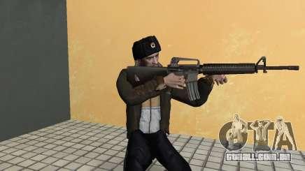 Niko Bellic em abas de orelha para GTA Vice City