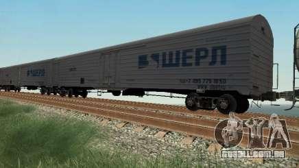 Vagão de carga para GTA San Andreas