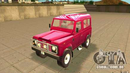Land Rover Defender 90SW para GTA San Andreas