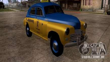 GAZ M20 Pobeda táxi para GTA San Andreas