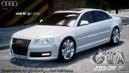 Audi S8 D3 2009 para GTA 4