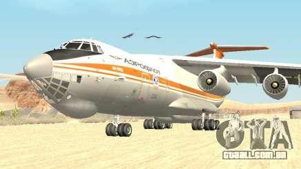 Ilyushin 76 TD (bombeiro) para GTA San Andreas