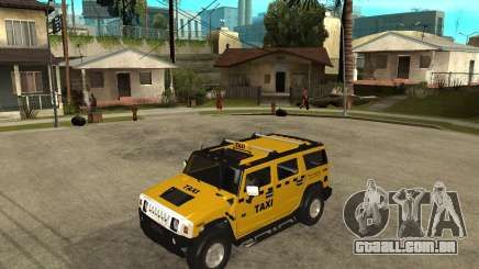 AMG H2 HUMMER TAXI para GTA San Andreas