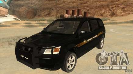 Dodge Caravan Sheriff 2008 para GTA San Andreas