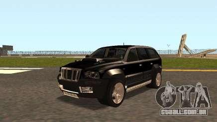 Jeep Grand Cherokee Black para GTA San Andreas