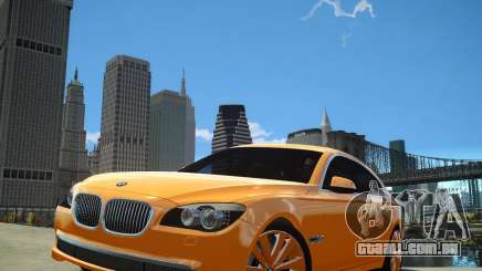 BMW 750Li  2010 para GTA 4