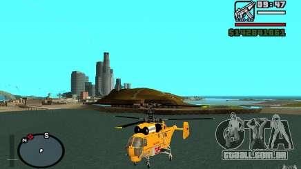 KA-27 N para GTA San Andreas