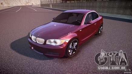 BMW 135i Coupe v1.0 2009 para GTA 4