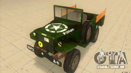 Dodge WC51 1944 para GTA San Andreas