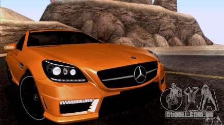 Mercedes Benz SLK55 R172 AMG para GTA San Andreas